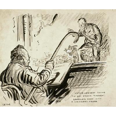 Victor Herbert and Frank Tinney
