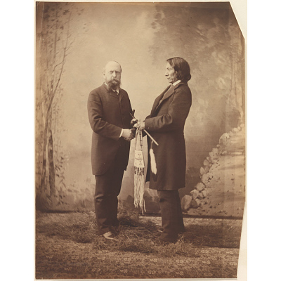Red Cloud and Othniel Charles Marsh