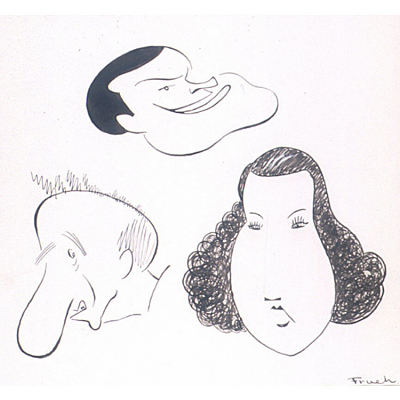 Jimmy Durante, Ethel Merman and Bob Hope --