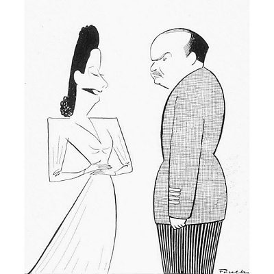 Alfred Lunt and Lynn Fontanne --