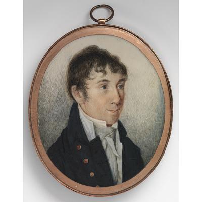Charles Brockden Brown Portrait