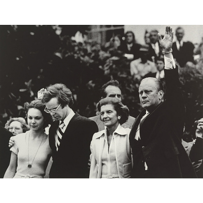 Gerald and Betty Ford (with David and Julie Eisenhower)