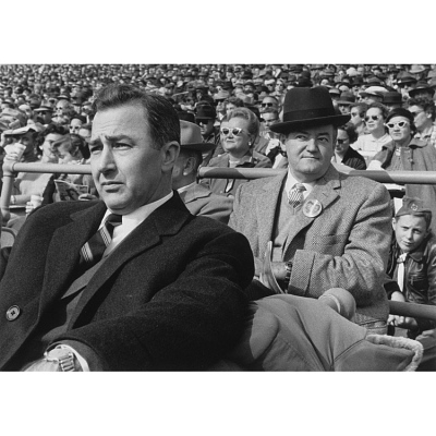 Hubert Humphrey (with Eugene McCarthy)