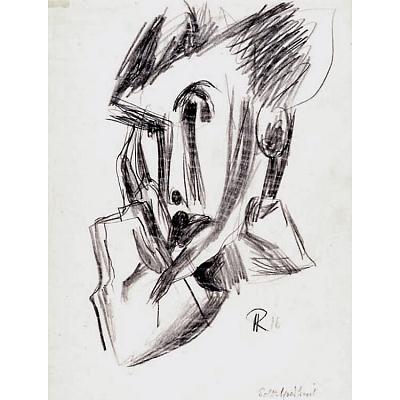 Hans Richter Self-Portrait