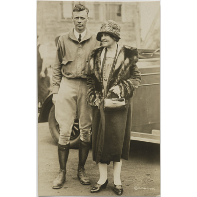 Charles and Evangeline Lindbergh