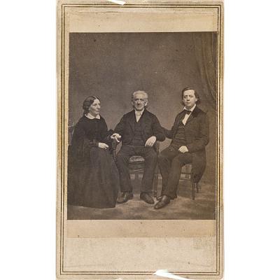 Harriet Beecher Stowe, Lyman Beecher, and Henry Ward Beecher