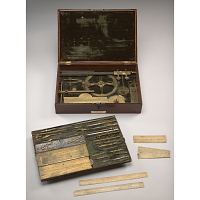 Image of Gilbert Stuart's drawing instruments