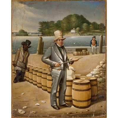 George Shoemaker Inspecting Flour for the Port of Georgetown