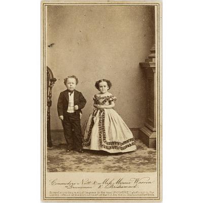 Commodore Nutt and Minnie Warren