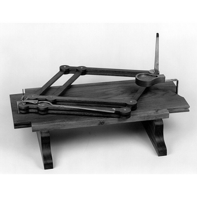 Physiognotrace, replica made from Peale's drawing