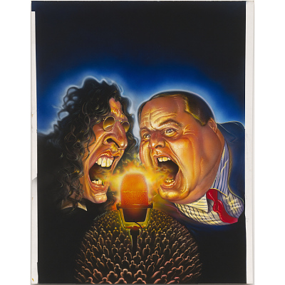Howard Stern and Rush Limbaugh