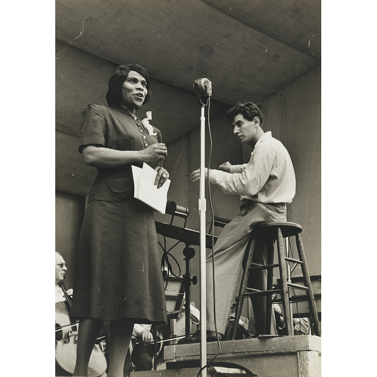Image for Marian Anderson and Leonard Bernstein