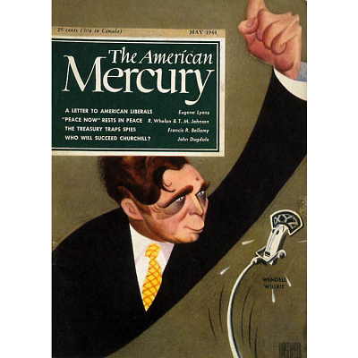 Wendell Willkie on the cover of The American Mercury