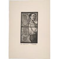 Image of Federico Castellon Self-Portrait