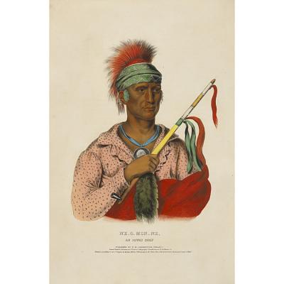 Ne-o-mon-ne - An Ioway Chief