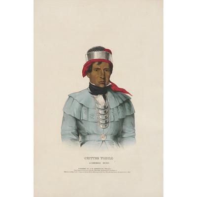 Chittee Yoholo - A Seminole Chief