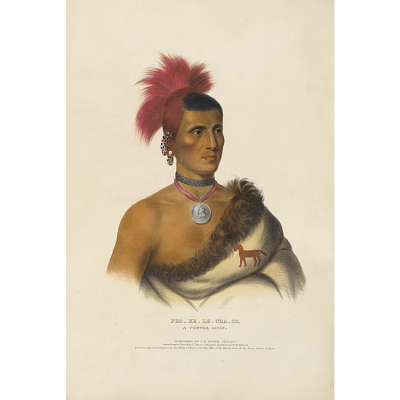 Pes-ke-le-cha-co - A Pawnee Chief