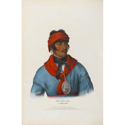 Se-loc-ta - A Creek Chief