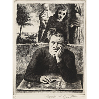 Image of Self-Portrait with H