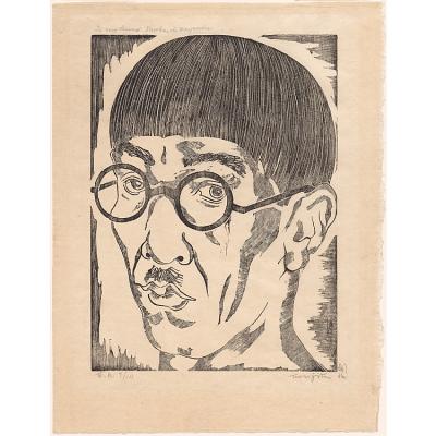 Tsuguharu Foujita Self-Portrait