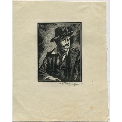 Henry Glintenkamp Self-Portrait