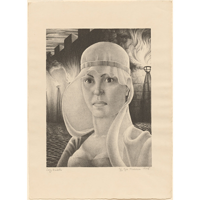 Self-Portrait as Lady MacBeth