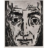 Image of Karl Schrag Self-Portrait