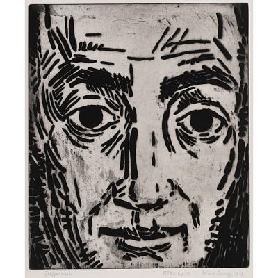 Karl Schrag Self-Portrait