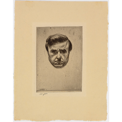 John H.B. Storrs Self-Portrait