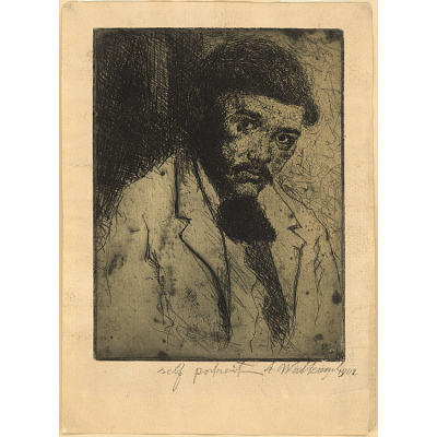 Abraham Walkowitz Self-Portrait