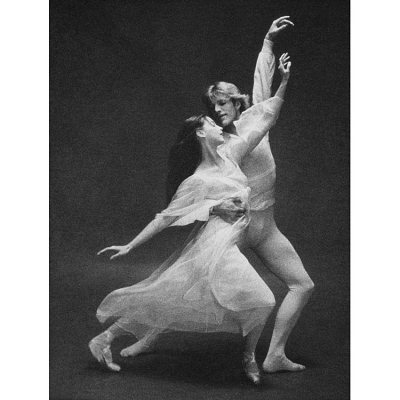Peter Martins and Suzanne Farrell in