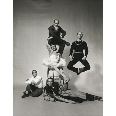 George Balanchine, Jerome Robbins, Antony Tudor, Ruthanna Boris, and Todd Bolender