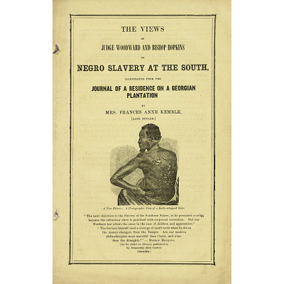 The Views of Judge Woodward and Bishop on Negro Slavery at the South