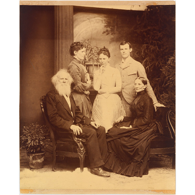 Josiah Hawes family
