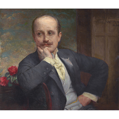Adolfo Müller-Ury Self-portrait