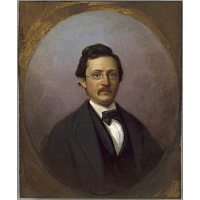 Image of George Linen Self-portrait