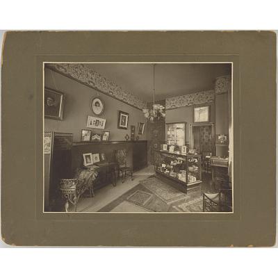 Reception Area of Jesse S. Wooley's Studio