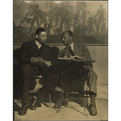 Frederick O'Neal and Abram Hill