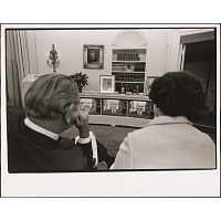 Lyndon Johnson and Lady Bird Johnson