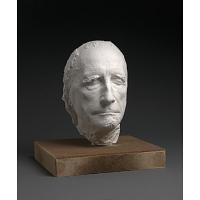Image of Life mask of Marcel Duchamp