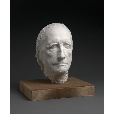 Life mask of Marcel Duchamp
