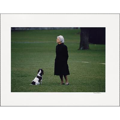 Barbara Bush Portrait