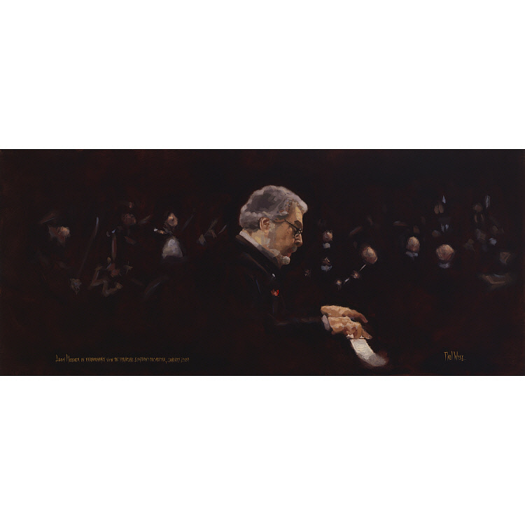 Image for Leon Fleisher in performance with the Syracuse Symphony