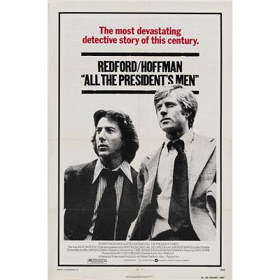 Dustin Hoffman and Robert Redford
