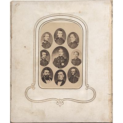 Nine Confederate generals