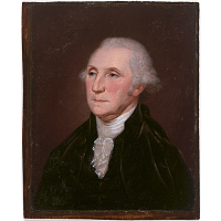 George Washington (Last Bust Portrait type)