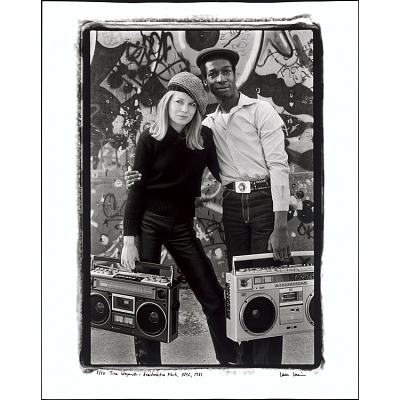 Tina Weymouth and Grandmaster Flash, NYC, 1981
