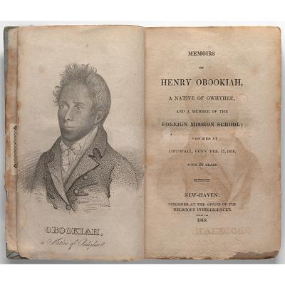 Memoirs of Henry Obookiah