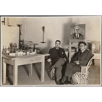 José Gómez-Sicre and José Clemente Orozco
