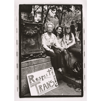 Sylvia Rivera (with Christina Hayworth and Julia Murray)